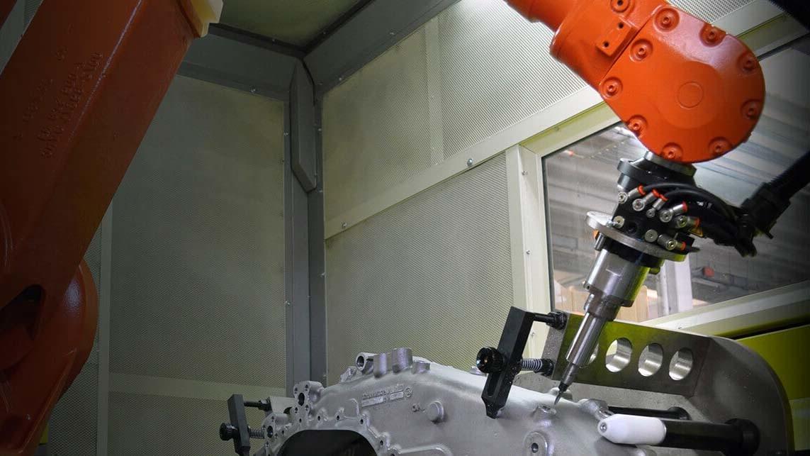 Frezovani robotem