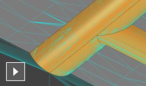 Měření ploch sondou